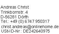 Impressum von GuenstigeHaftpflichtversicherung.de